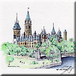 """Parliament Buildings - Summer"""